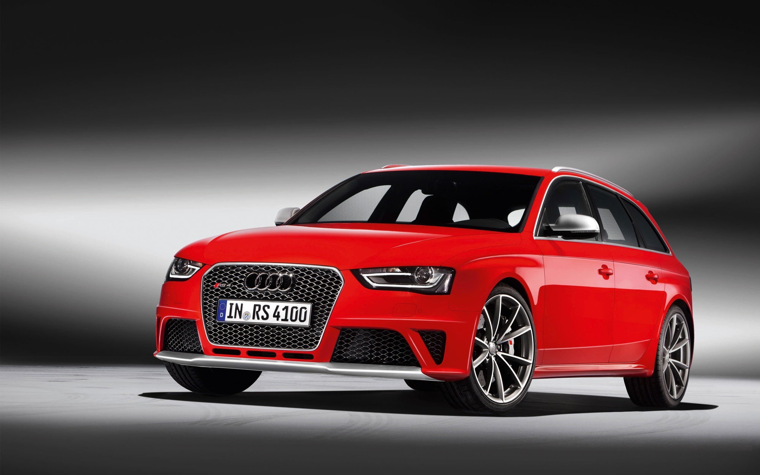 Audi rs4 avant cars red sports wallpapers