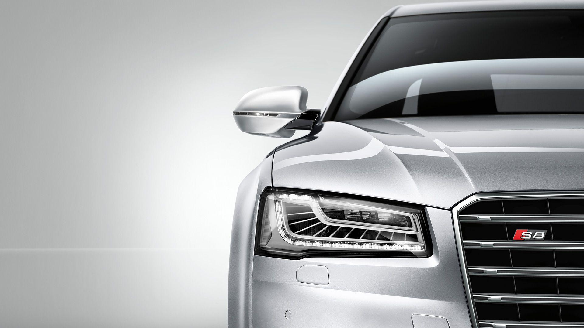 Audi A8 2014 Red wallpapers