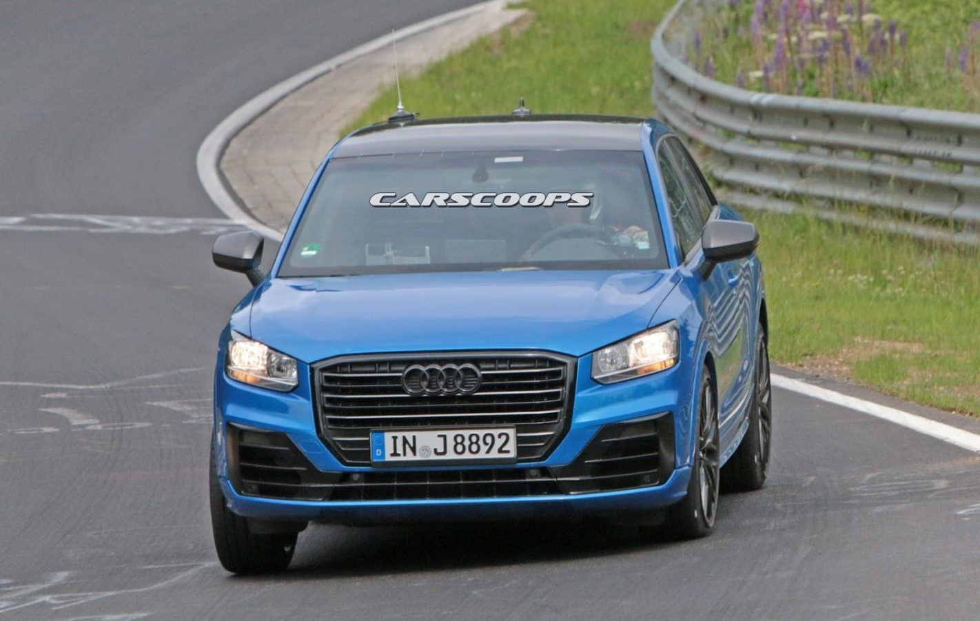 2018 Audi SQ2 Rear High Resolution Wallpapers