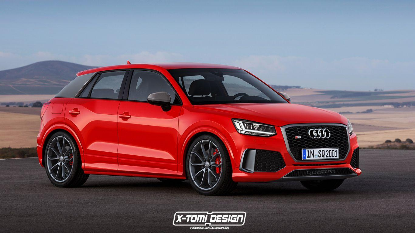 Audi RS Q2 Can Finally Be Rendered, Could Happen by 2018