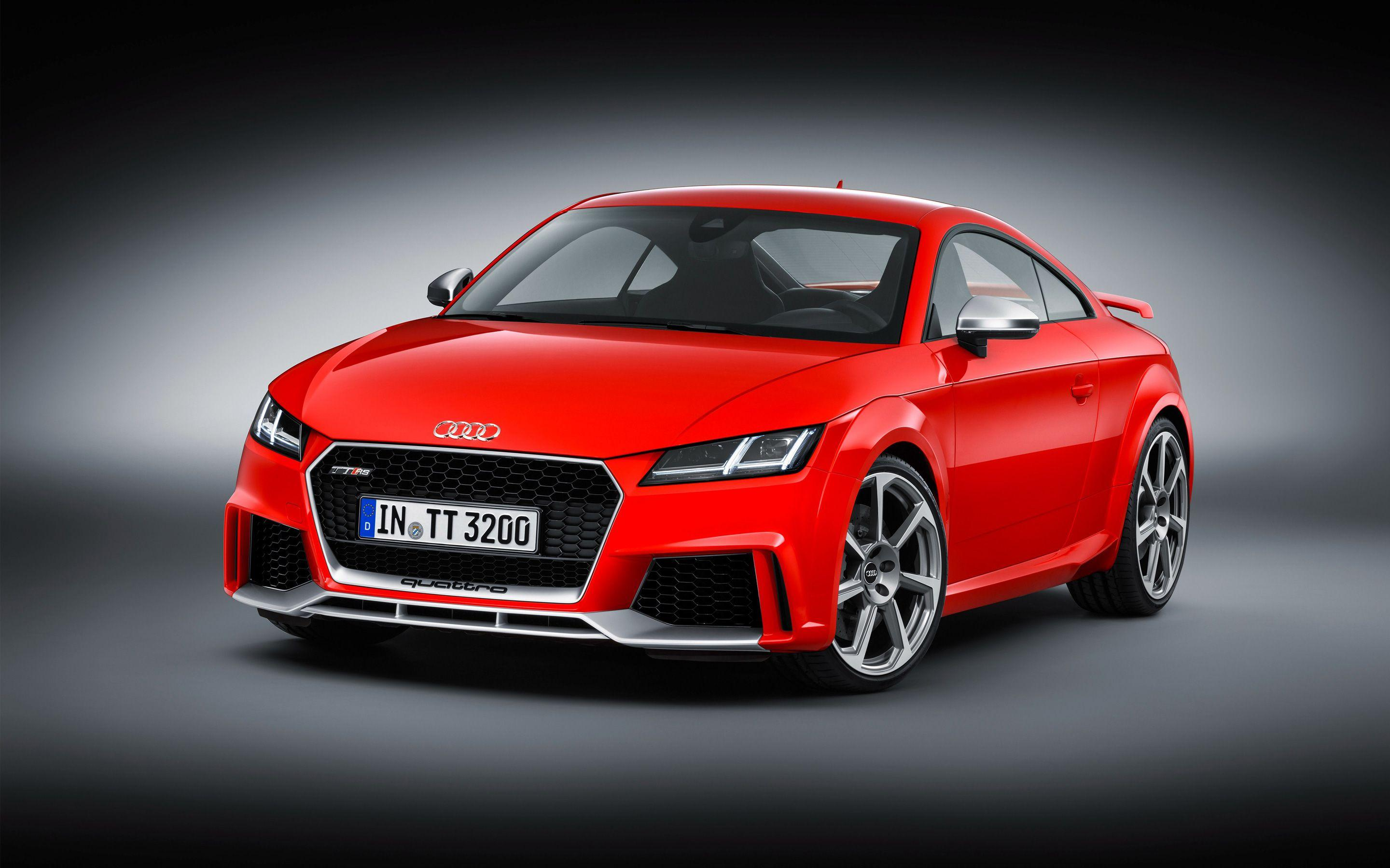 2017 Audi TT RS Coupe Wallpapers