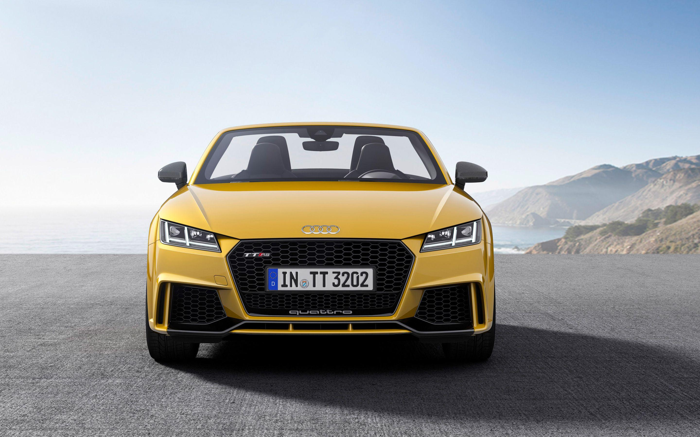 2017 Audi TT RS Roadster Wallpapers