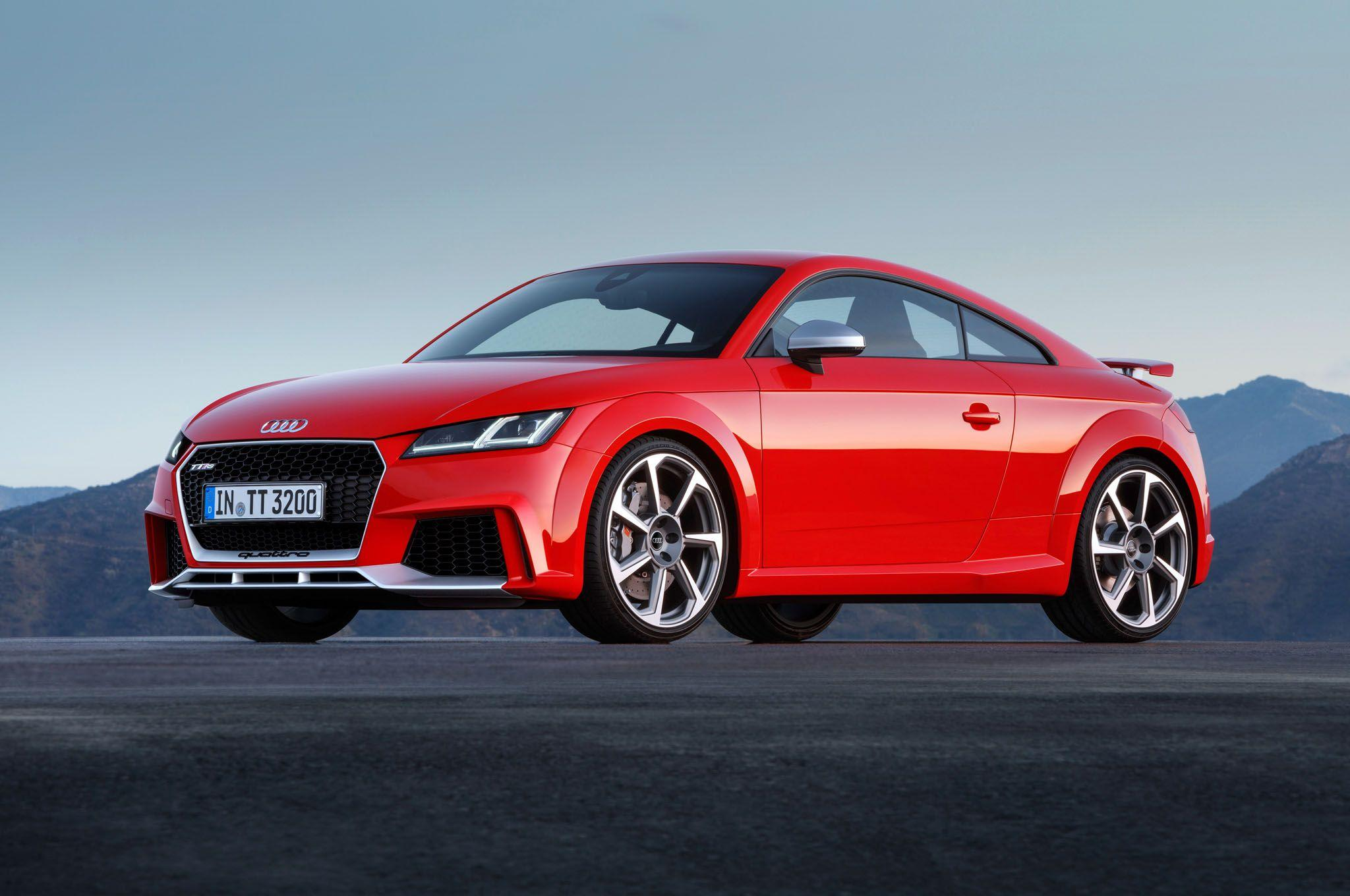2017 Audi TT RS Coupe Backgrounds Wallpapers