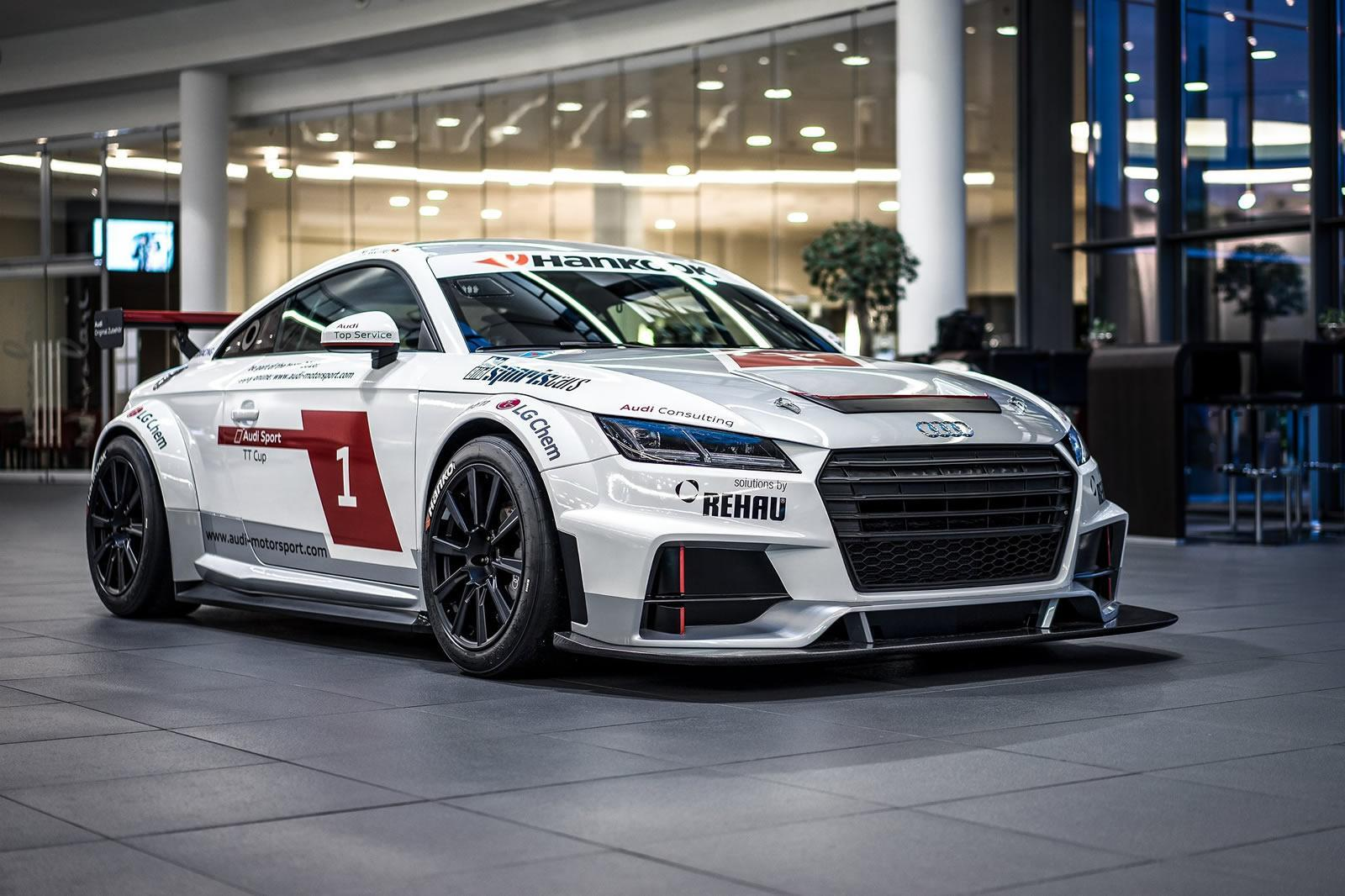 2015 Audi TT Cup Race Car Wallpapers