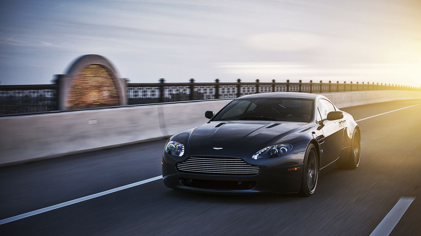 Aston Martin V8 Vantage Wallpapers Free Pictures On Greepx