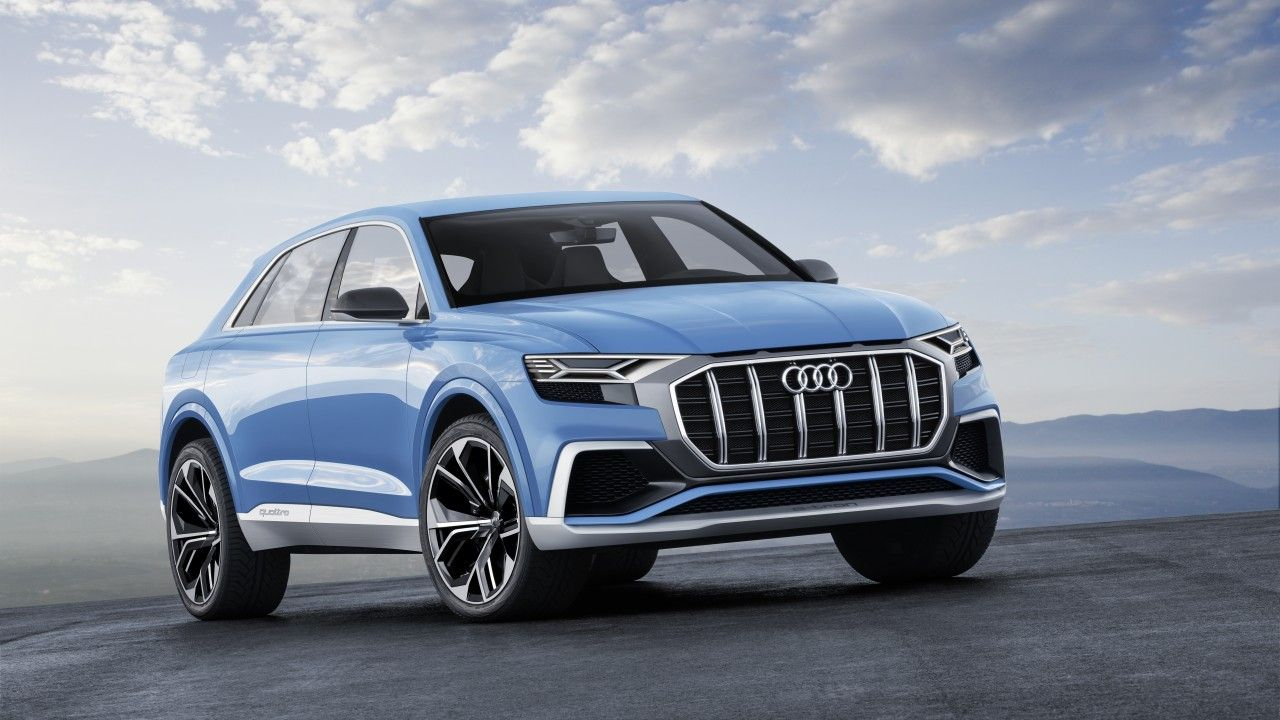 Wallpapers Audi Q8, 2017, Concept SUV, HD, 4K, Automotive / Cars,