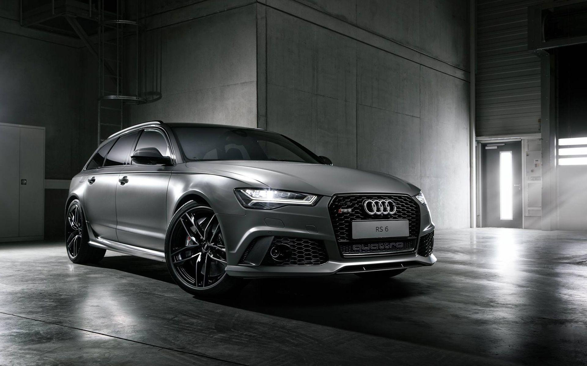 2015 Audi RS6 Avant Exclusive Wallpapers