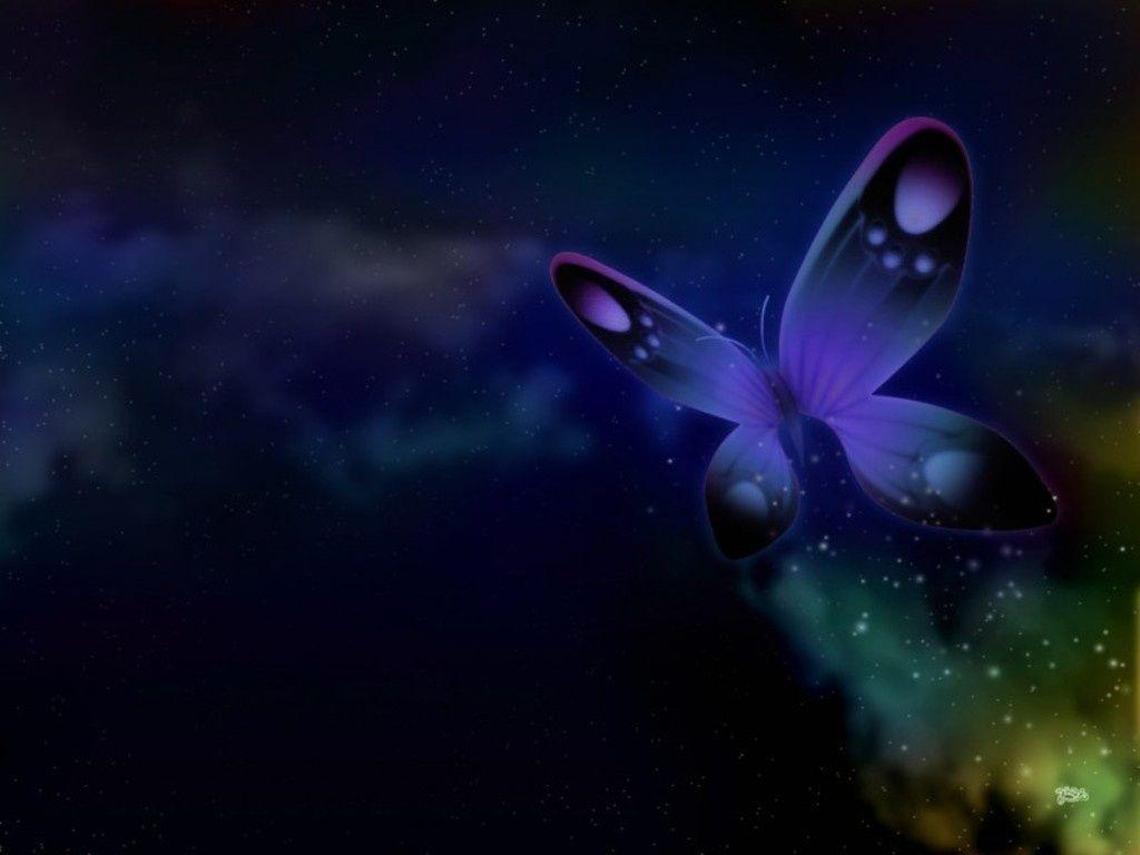 Blue Butterfly,Wallpapers