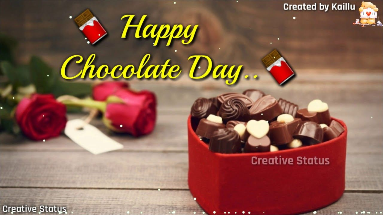 Romantic Chocolate Day Image Wallpapers