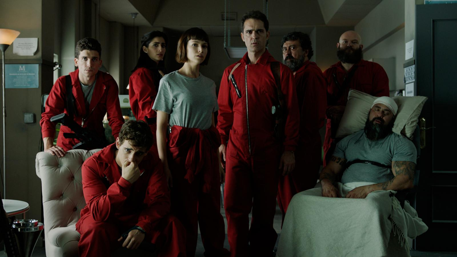 La Casa De Papel Wallpapers Free Pictures On Greepx