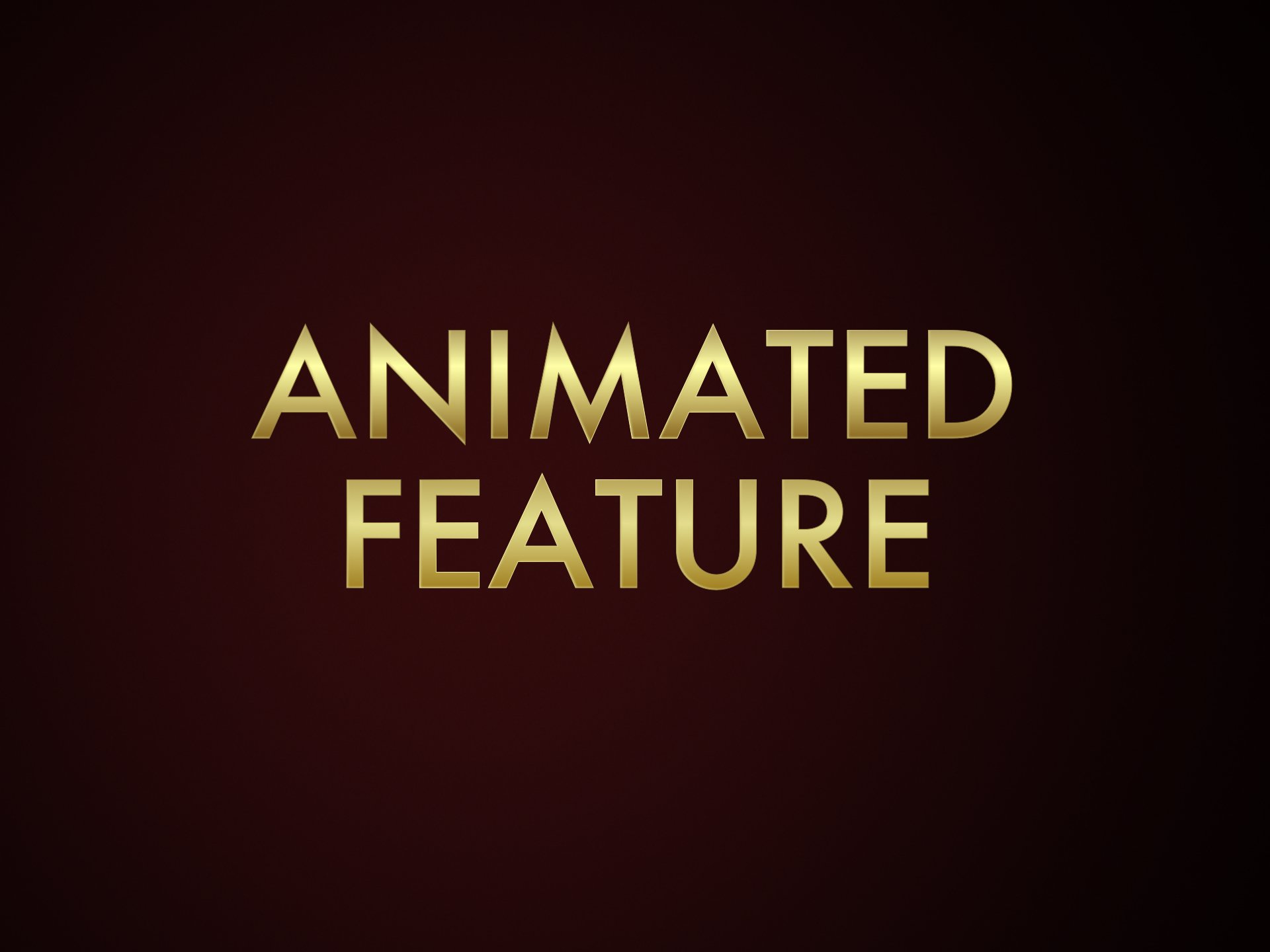 Animated Feature Film Oscar Nominations 2020