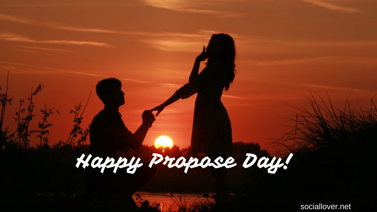 Happy Propose Day Image for Wife, Girlfriend, Boyfriend, Husband