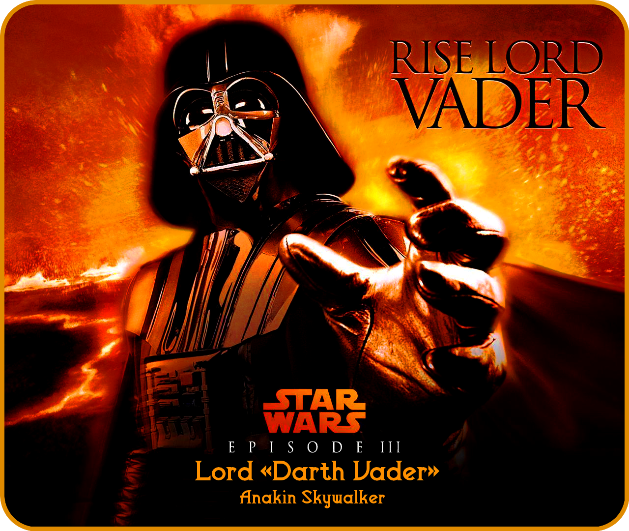 Star Wars» Episode III «Lord VADER» [ «Anakin Skywalker» ] Wallpapers