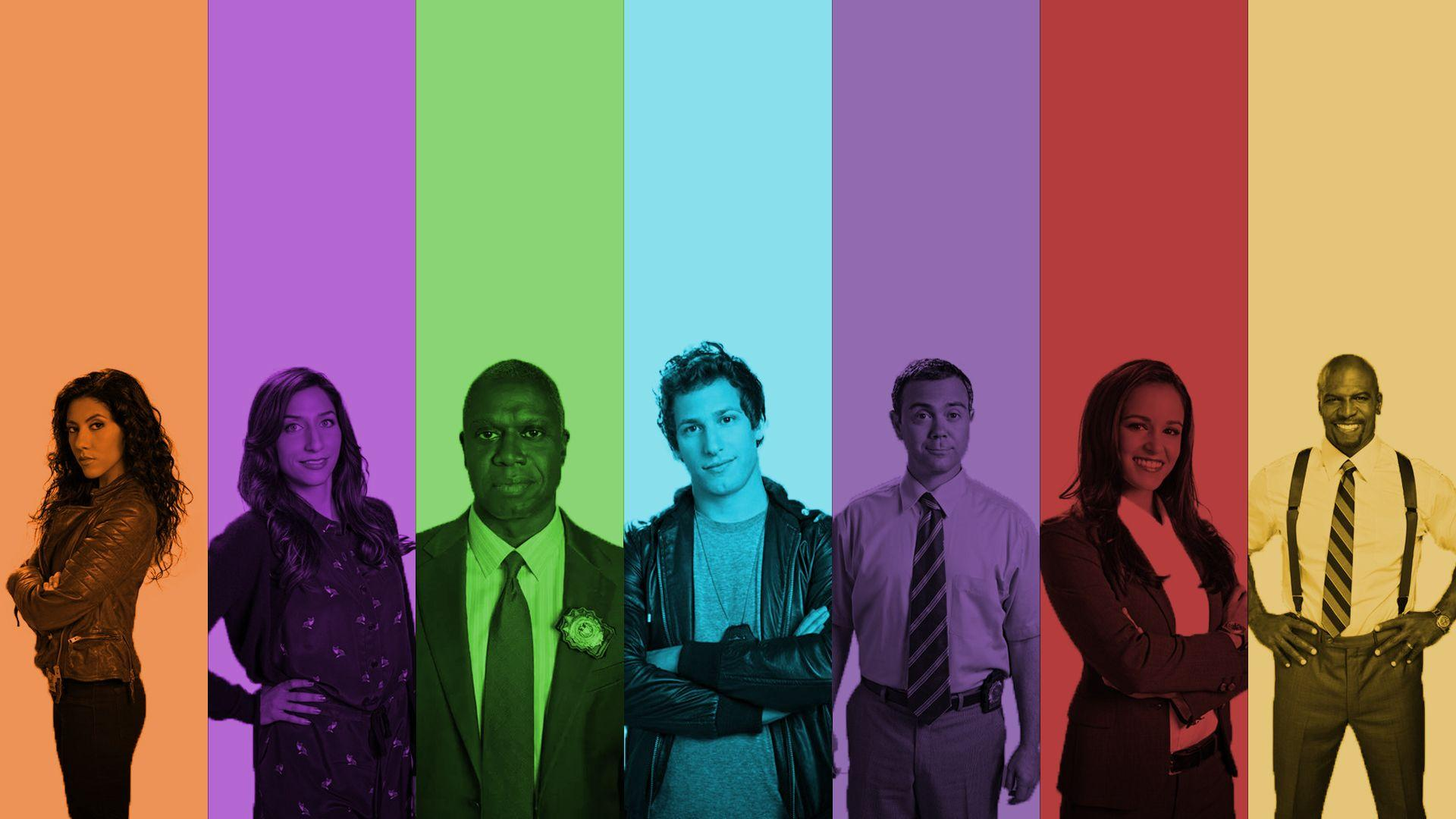 Made a Brooklyn Nine Nine wallpapers dedicated to my favourite show