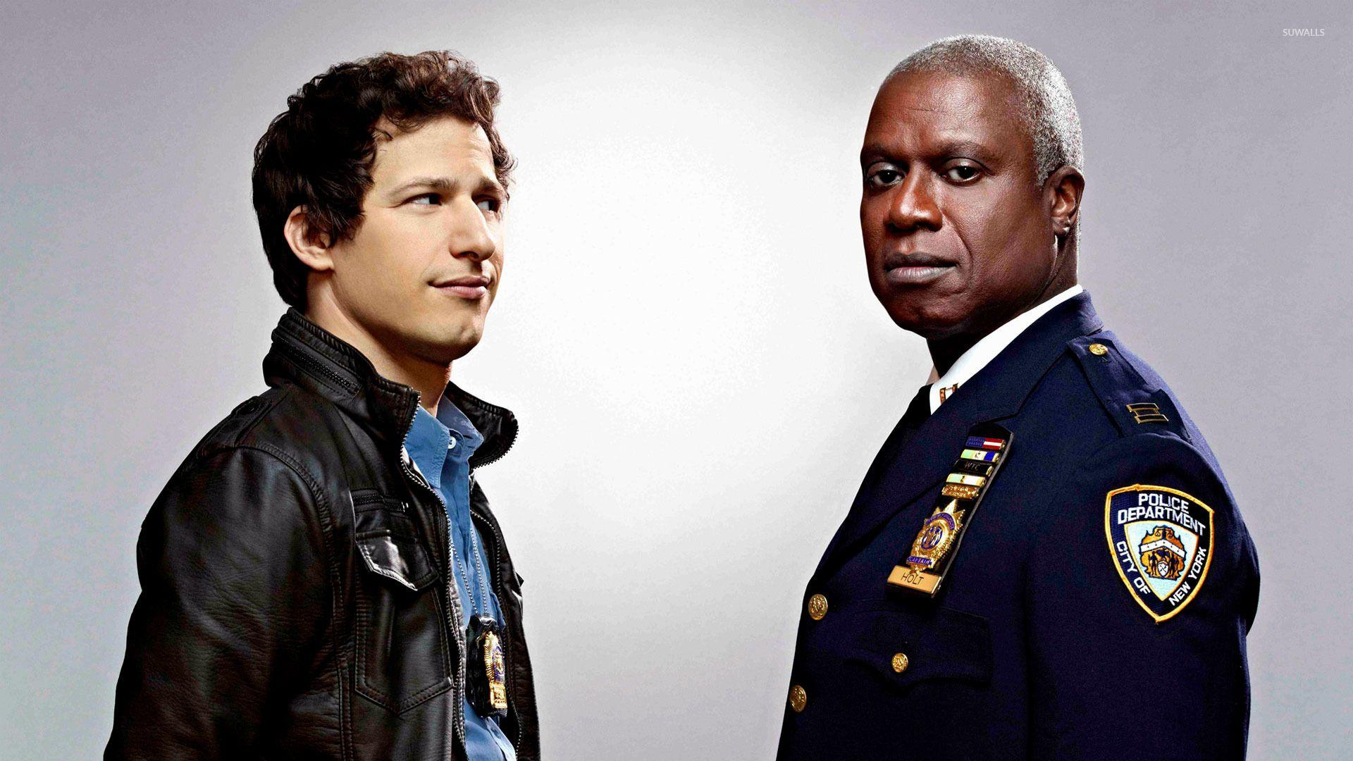 Capt. Holt and Jake Peralta
