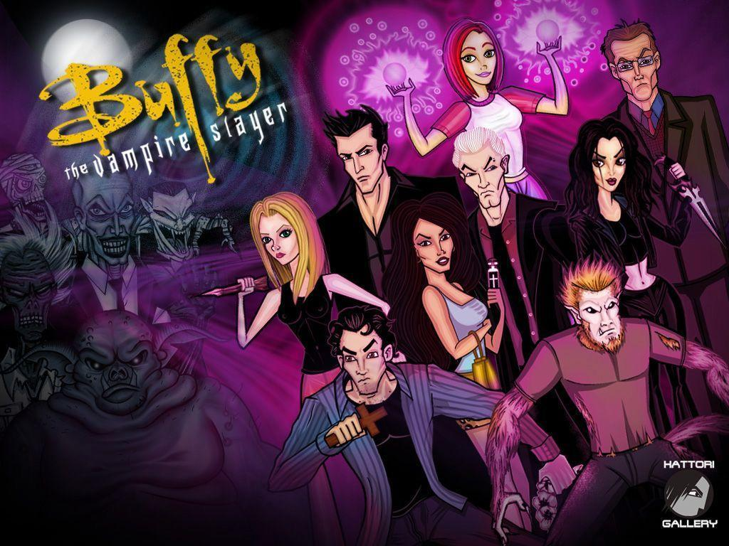 Buffy The Vampire Slayer And Angel favourites by ShadoWDueL on