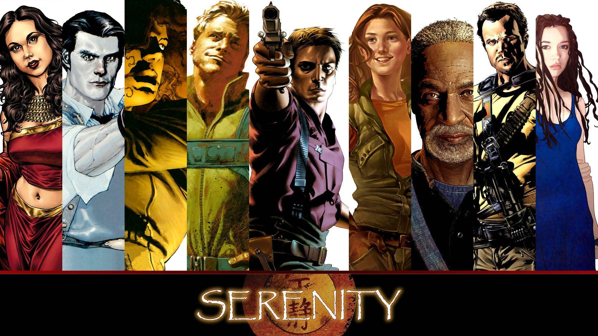 Awesome Firefly wallpapers collage using the comics : wallpapers