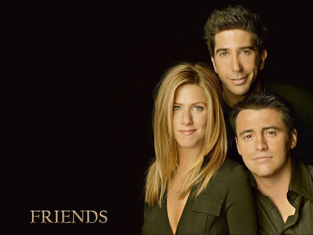 Friends wallpapers with all characters