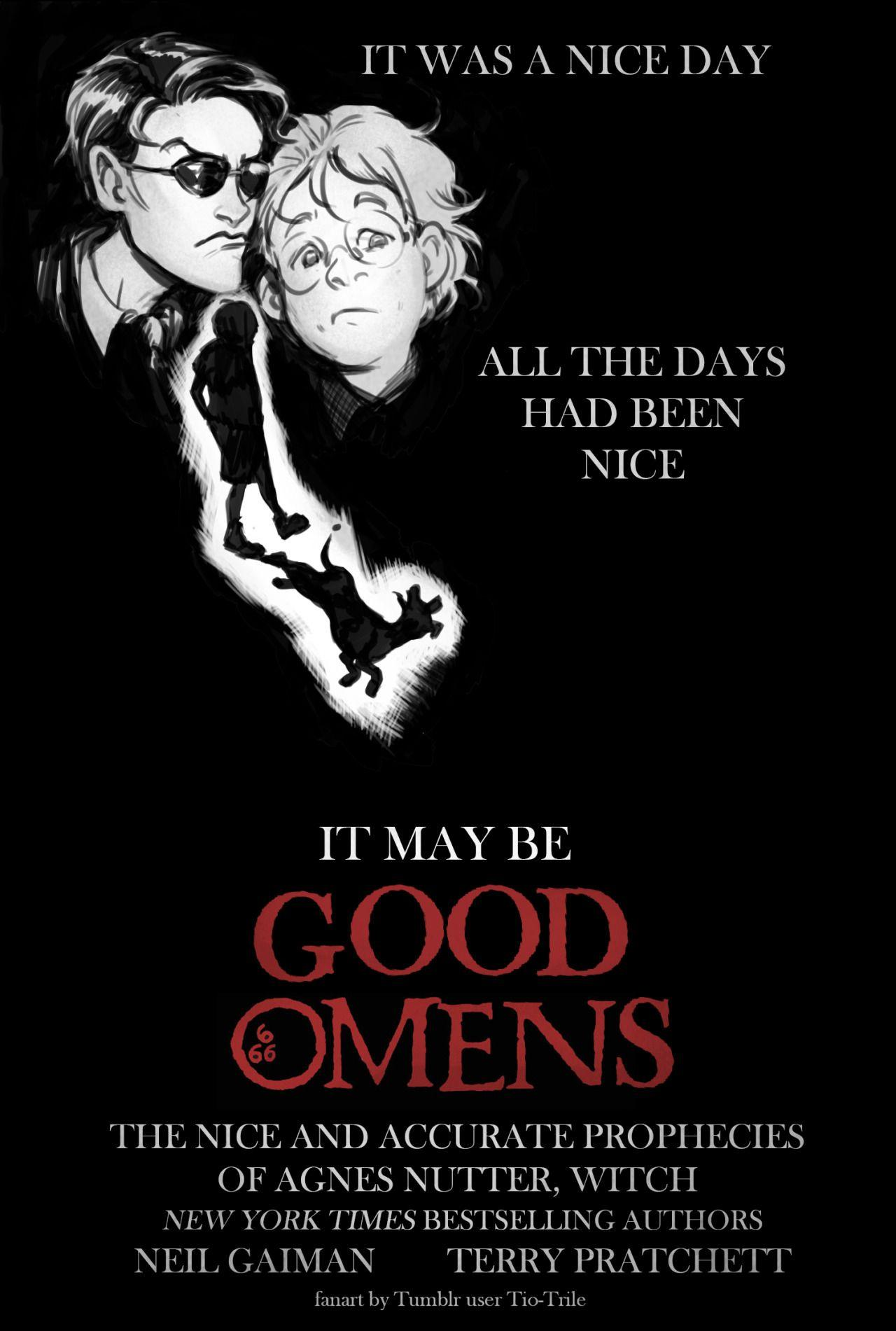 "Speaking of ""obscure old movie posters to redraw into Good Omens"