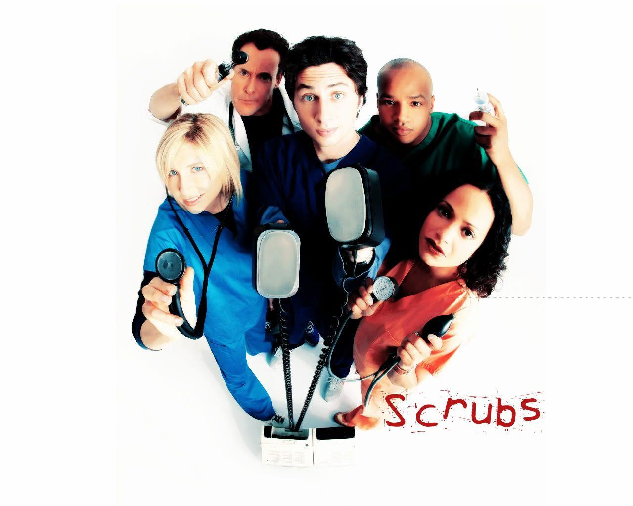 Scrubs Wallpaper, Cast Promo, JD Elliot