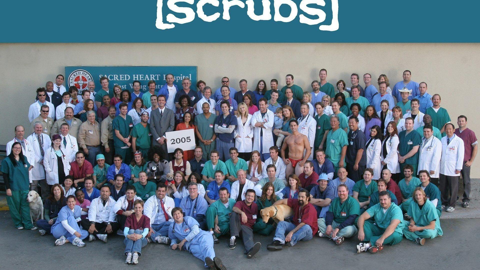 TV Shows: Scrubs Phone Wallpapers 1920x1200 for HD 16:9 High