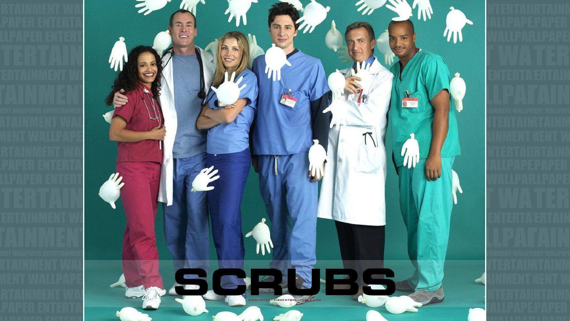 SCRUBS comedy drama series medical