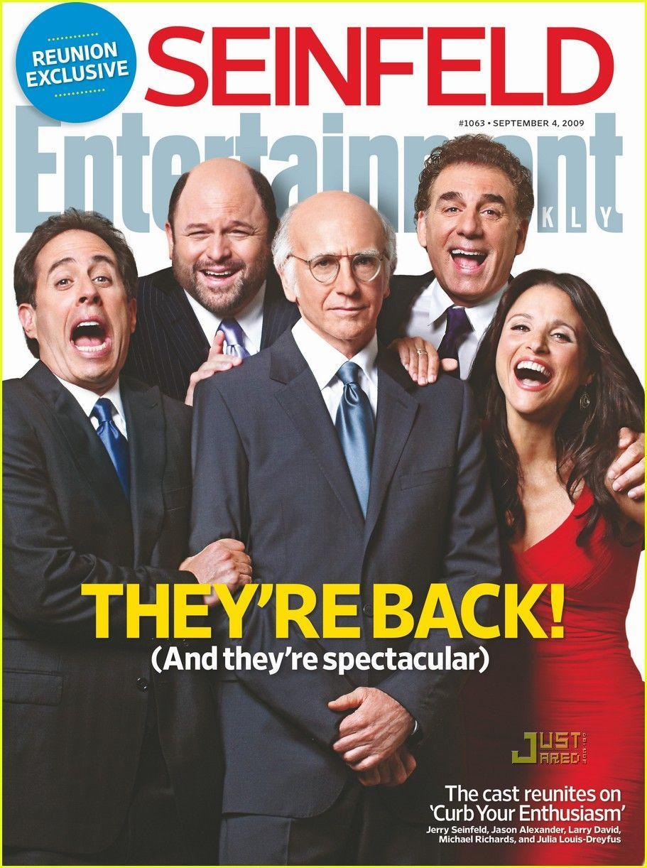 Seinfeld Cast Covers Entertainment Weekly: Photo 2165092