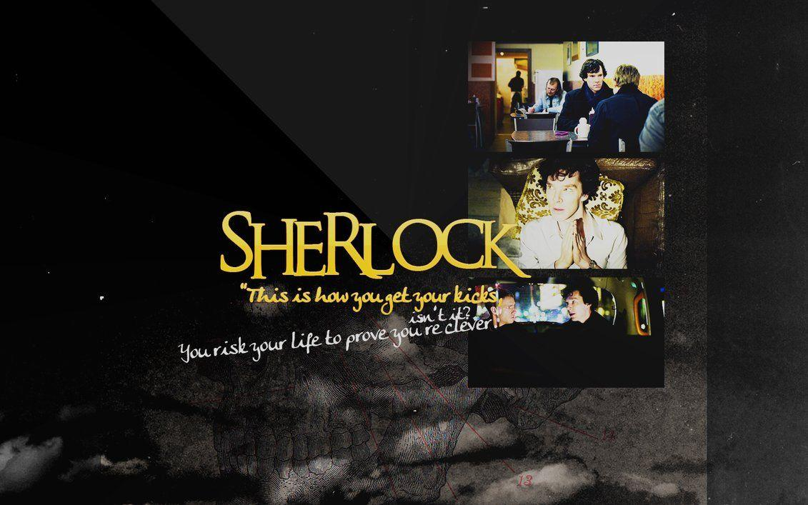 Sherlock BBC Wallpapers by peppermintfrogs