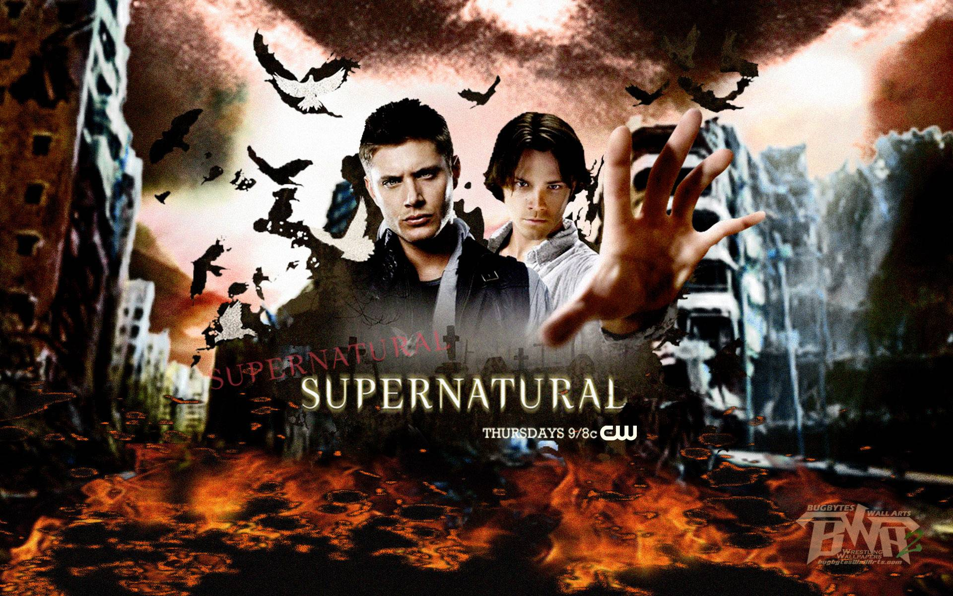 Supernatural Wallpapers Poster Tv Show