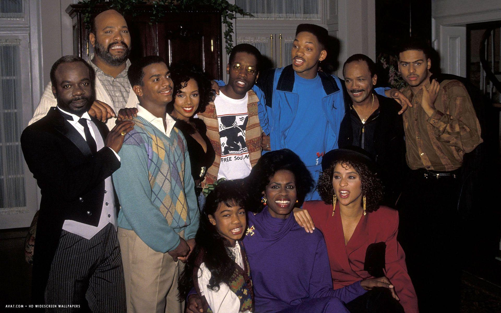 fresh prince of bel air tv series show hd widescreen wallpapers / tv