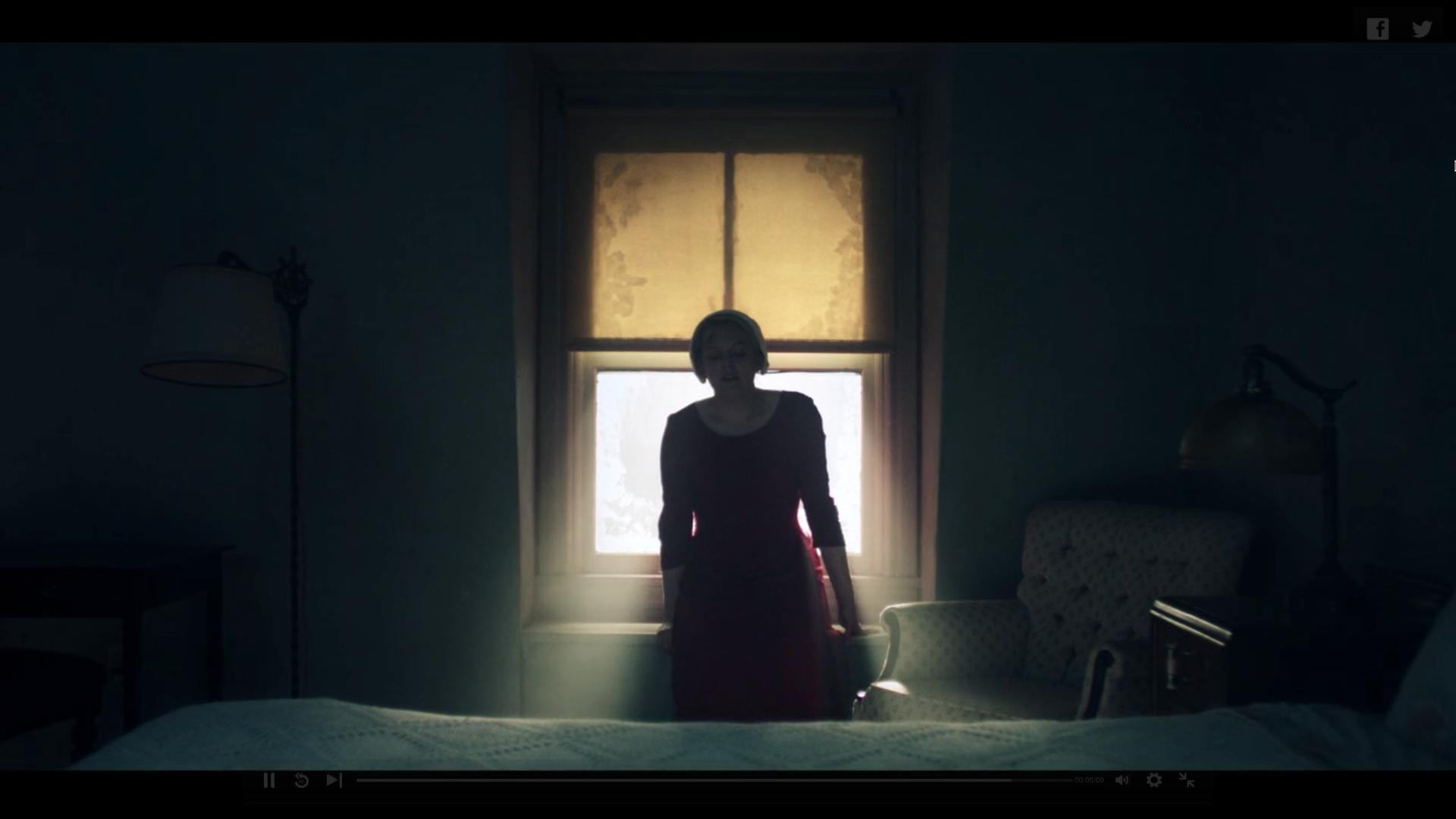 Visual Symbolism in The Handmaid's Tale: s01e10
