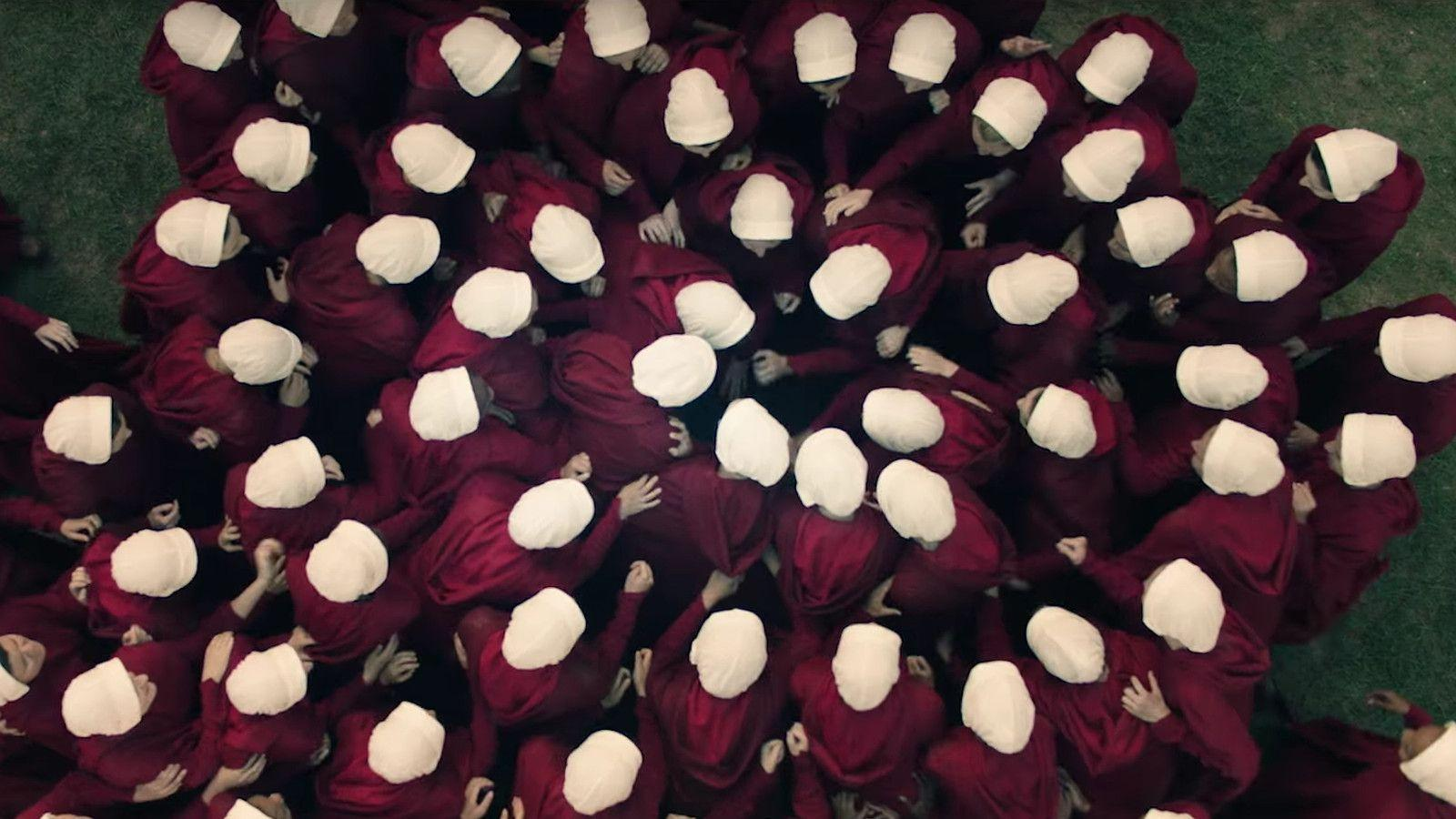 The full trailer for Hulu's Handmaid's Tale shows the rise of