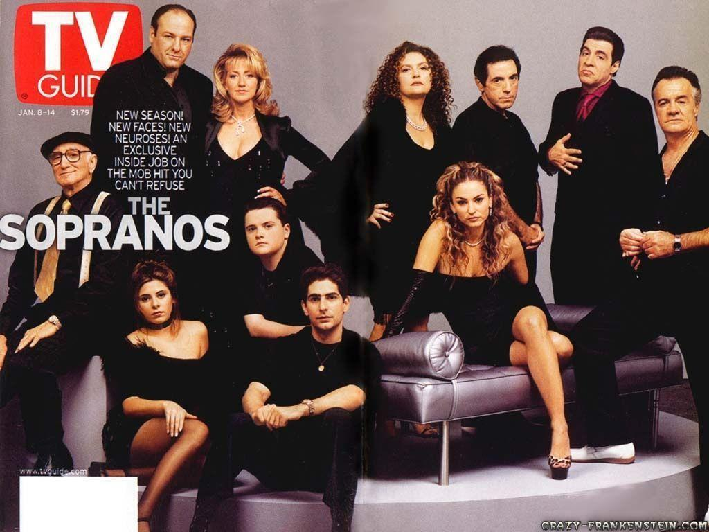 cast the sopranos tv series wallpapers