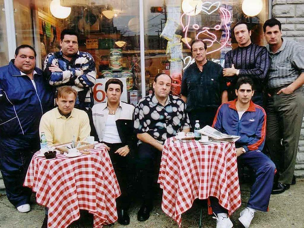 The Sopranos right at favourite place backgrounds in 1024x768