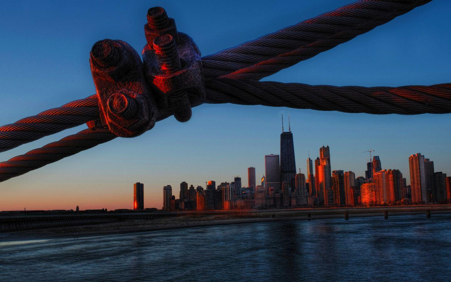 Chicago behind the Wire widescreen wallpapers