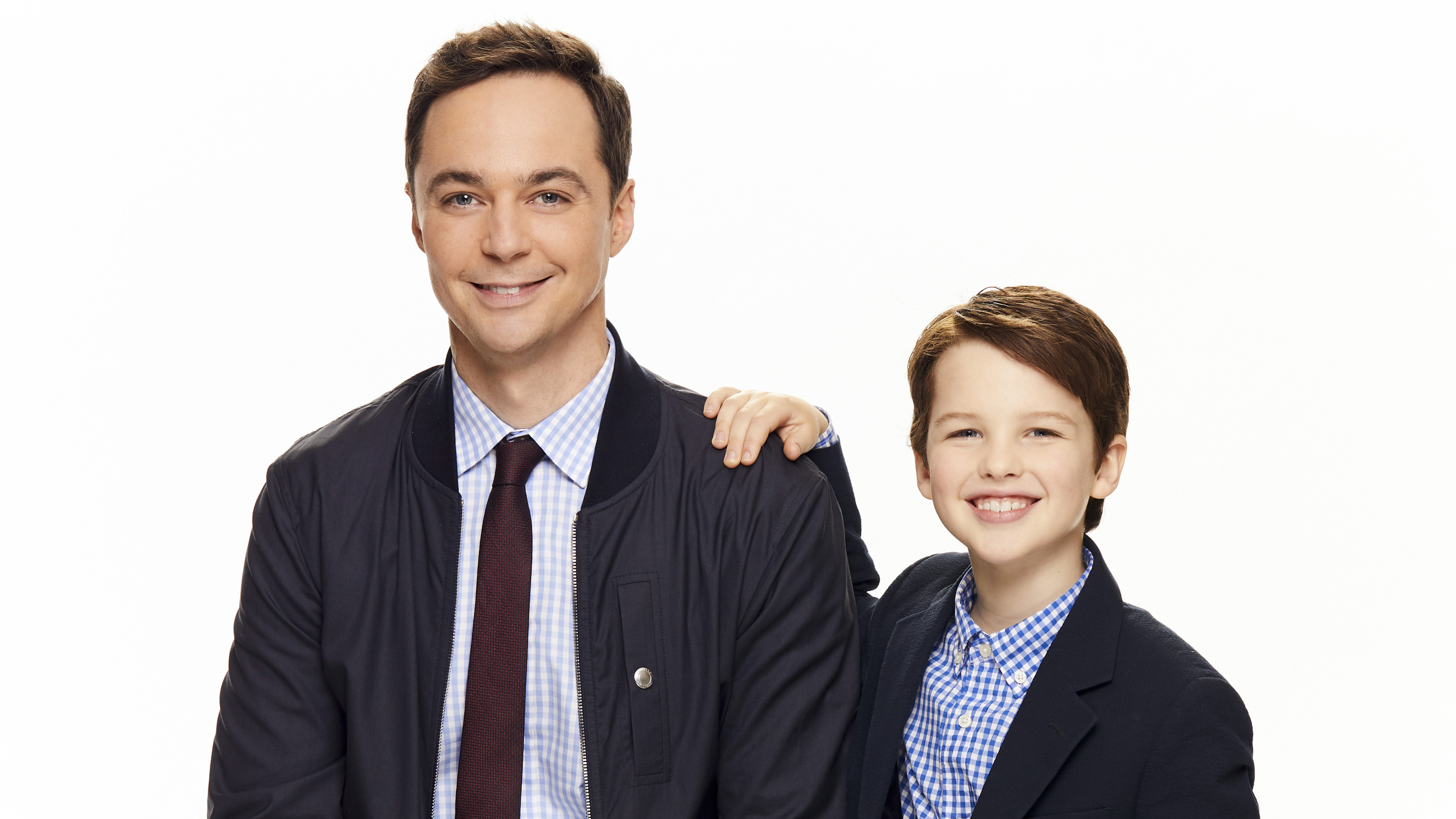 Jim Parsons And Young Sheldon, HD Tv Shows, 4k Wallpapers, Image