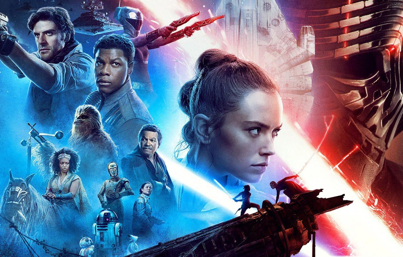 Wallpapers Star Wars, Star wars, poster, The Rise of