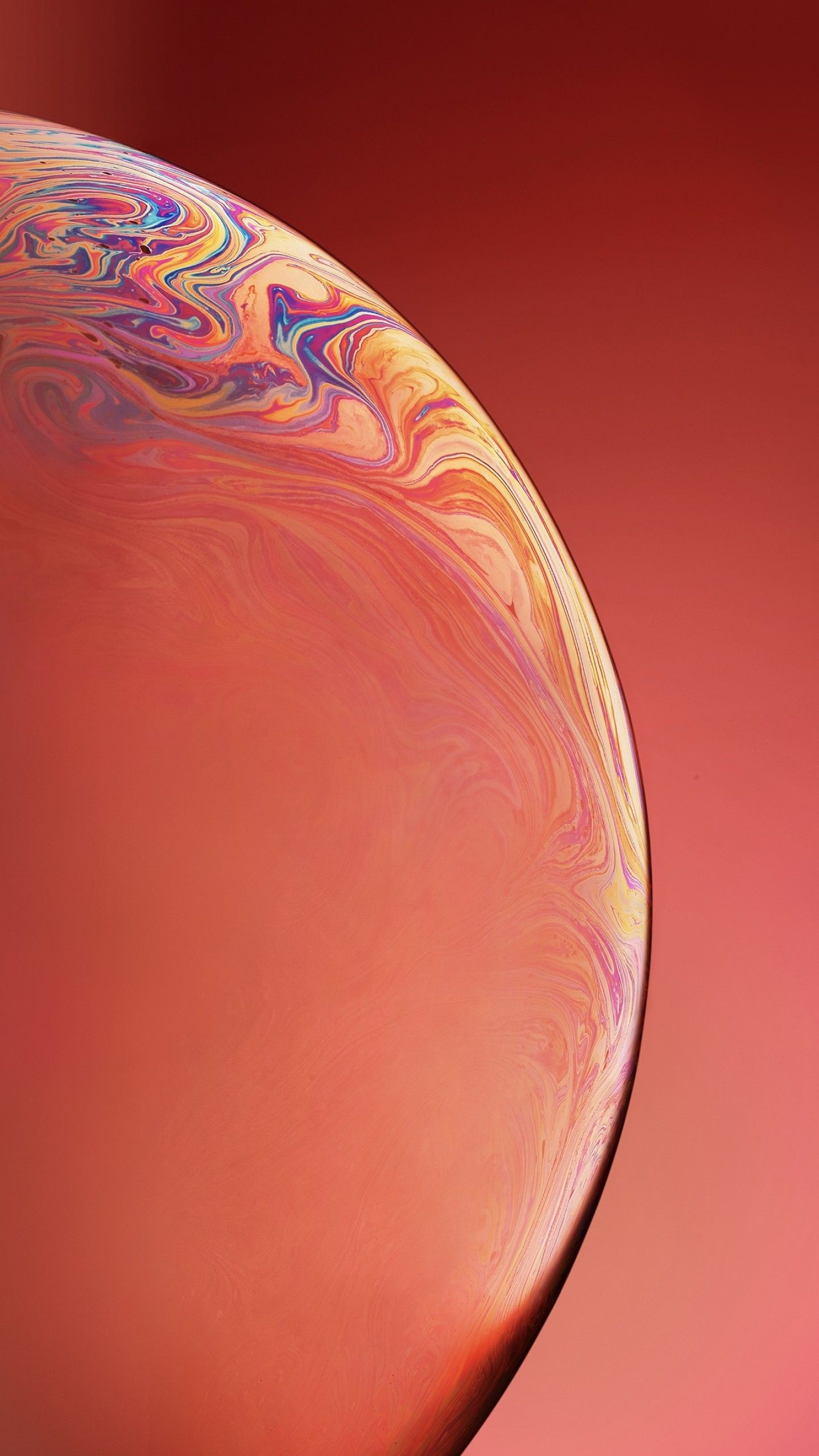 Wallpapers iPhone XR, iPhone XS, iOS 12, OS