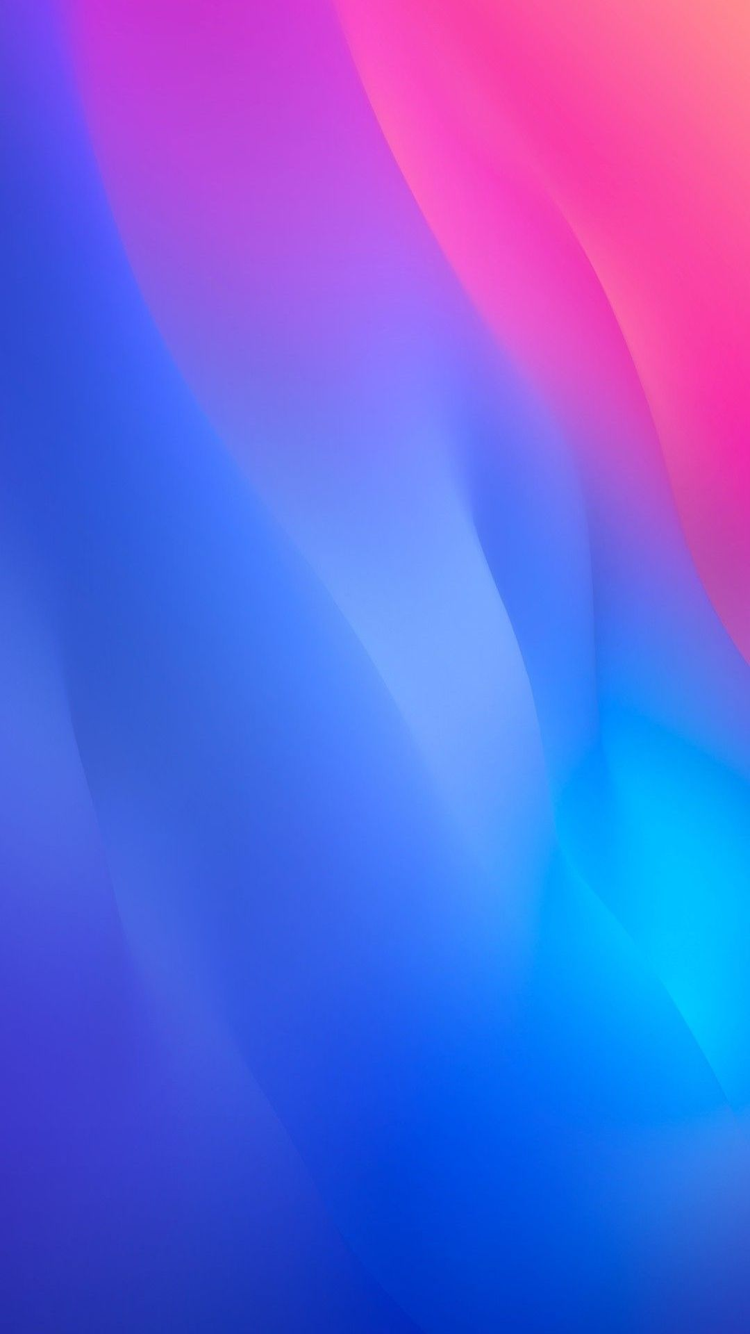 Free download iOS 12 iPhone X blue pink clean simple abstract