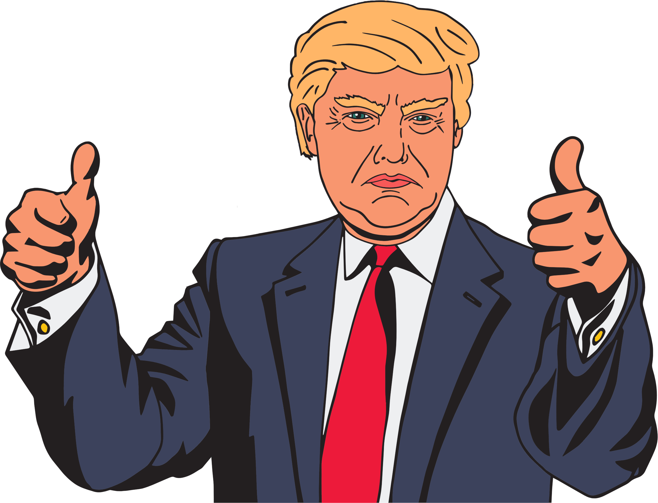 Trump clipart wallpapers for free download and use image in
