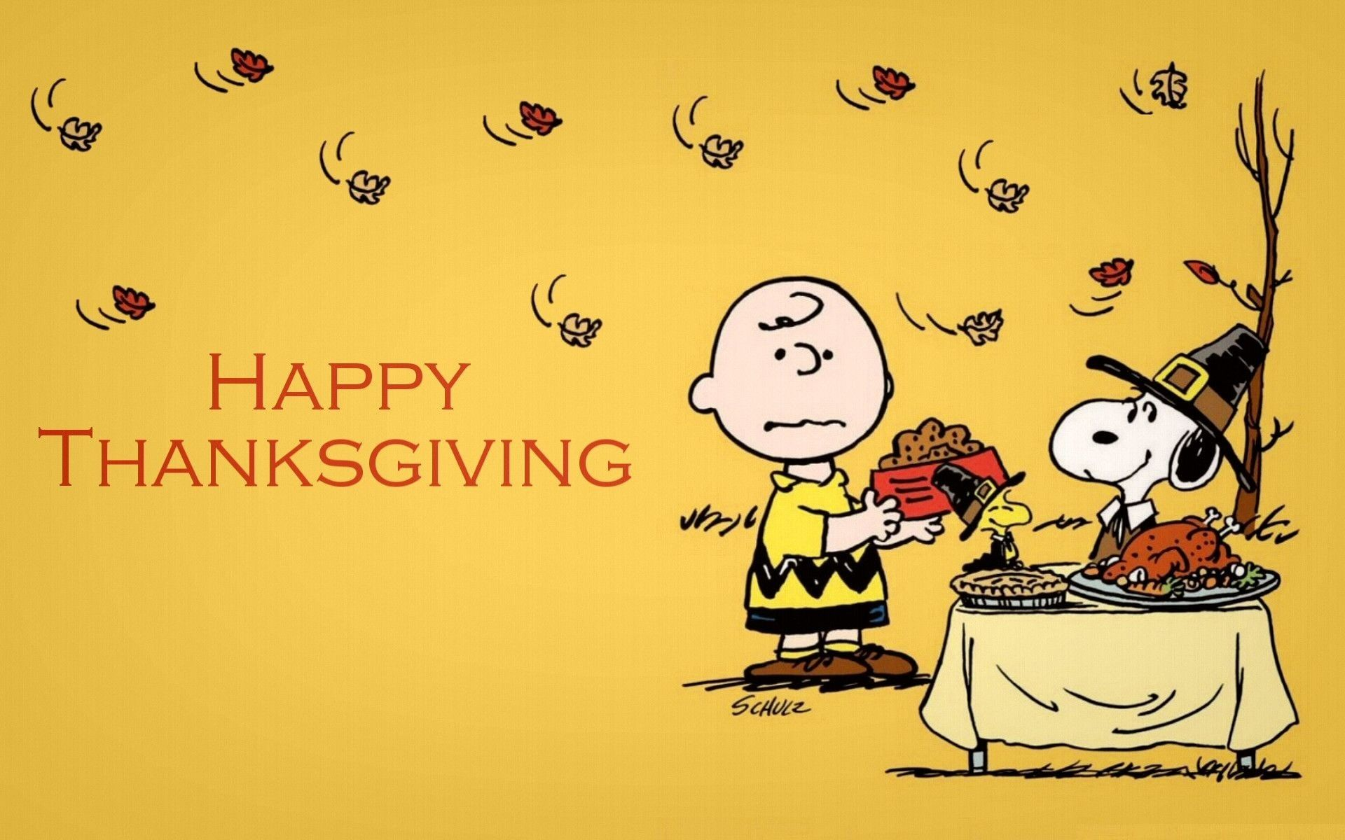 Snoopy Thanksgiving Wallpapers