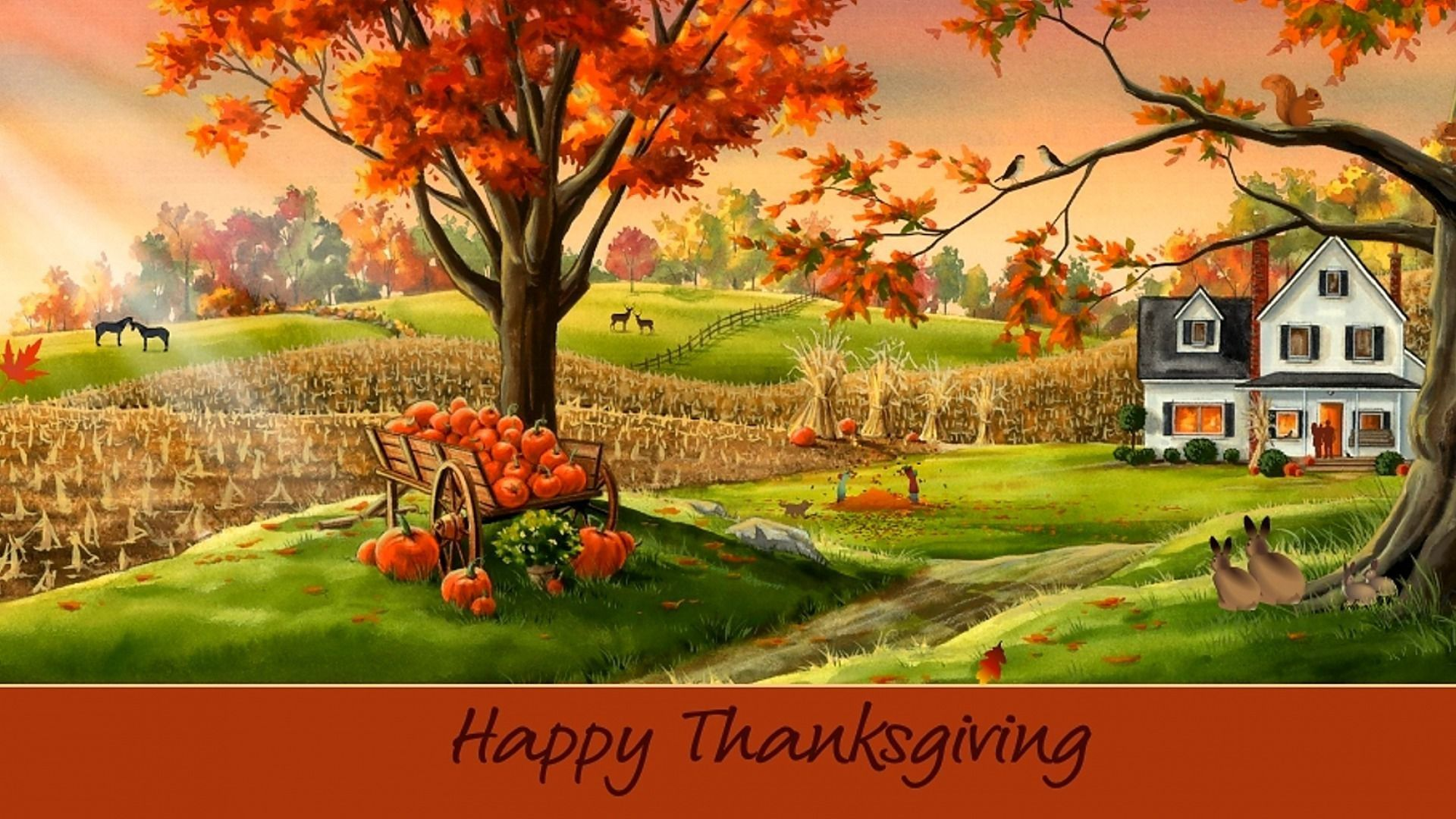 Happy Thanksgiving Desktop Wallpapers