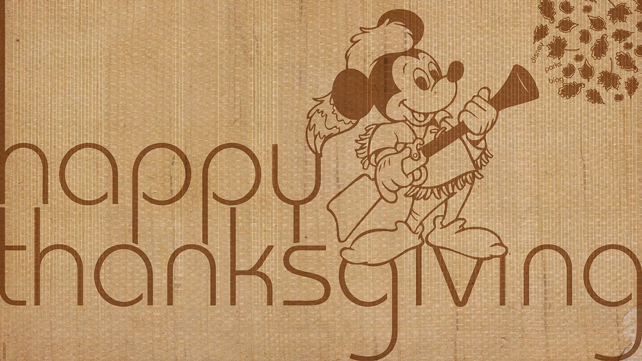 Enjoy Three Disney Parks Blog Thanksgiving Wallpapers