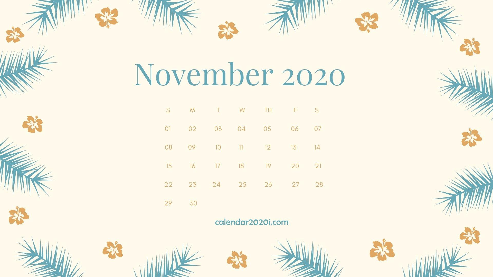 2020 Calendar Monthly HD Wallpapers