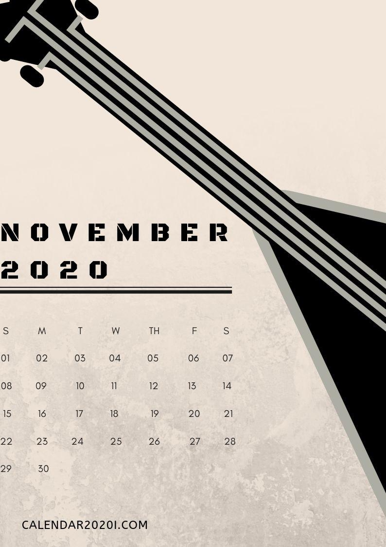 2020 Calendar iPhone Wallpapers