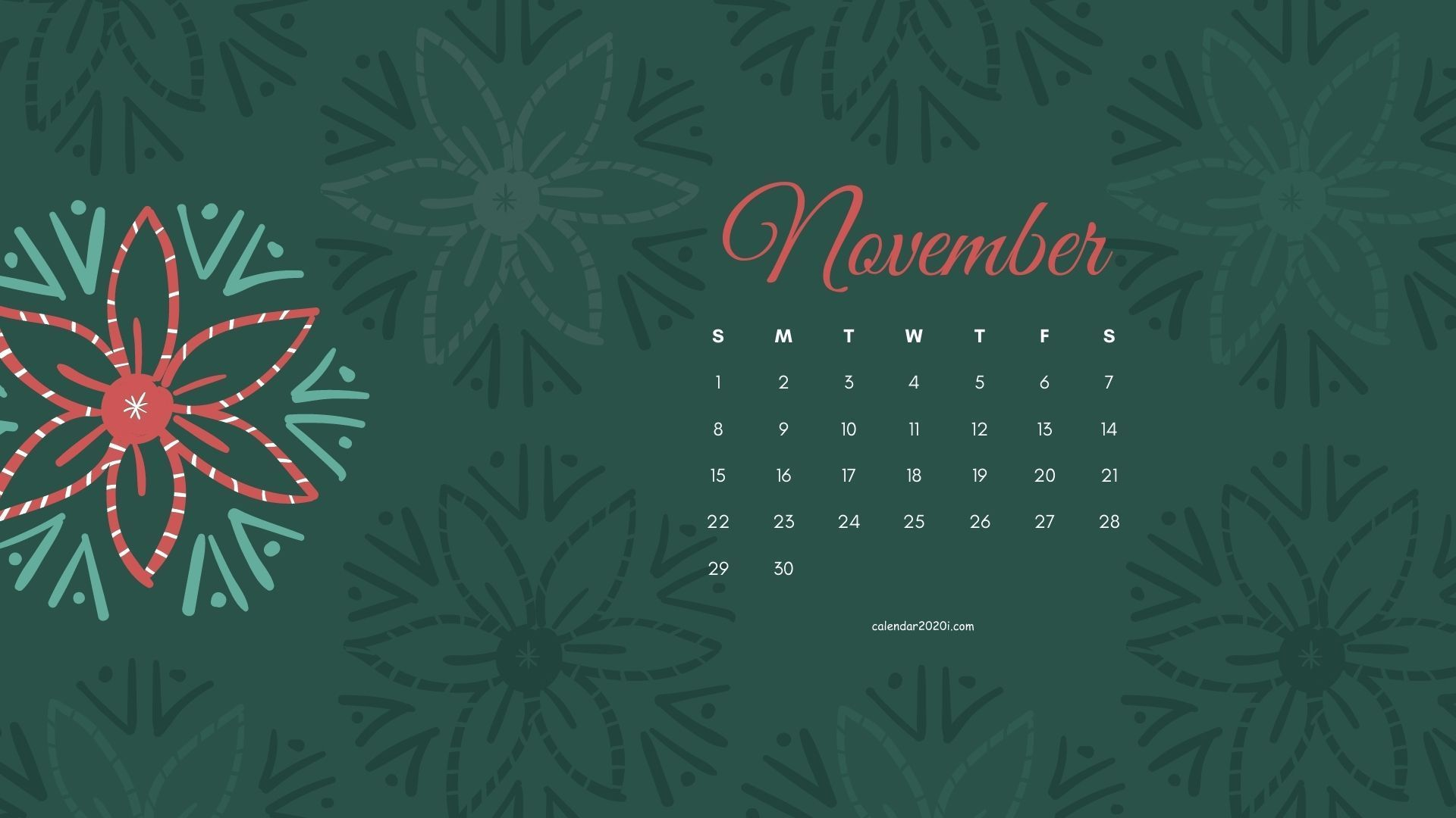 November 2020 Calendar HD Wallpapers Free Download