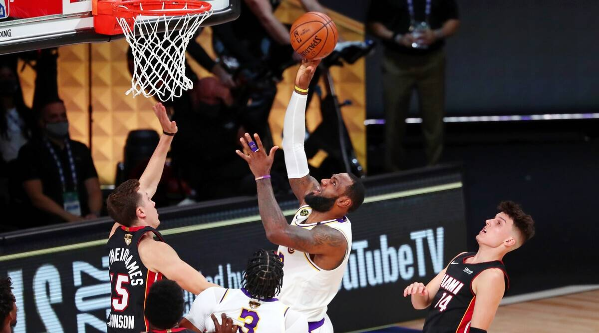 Los Angeles Lakers run past Miami Heat for 17th NBA championship