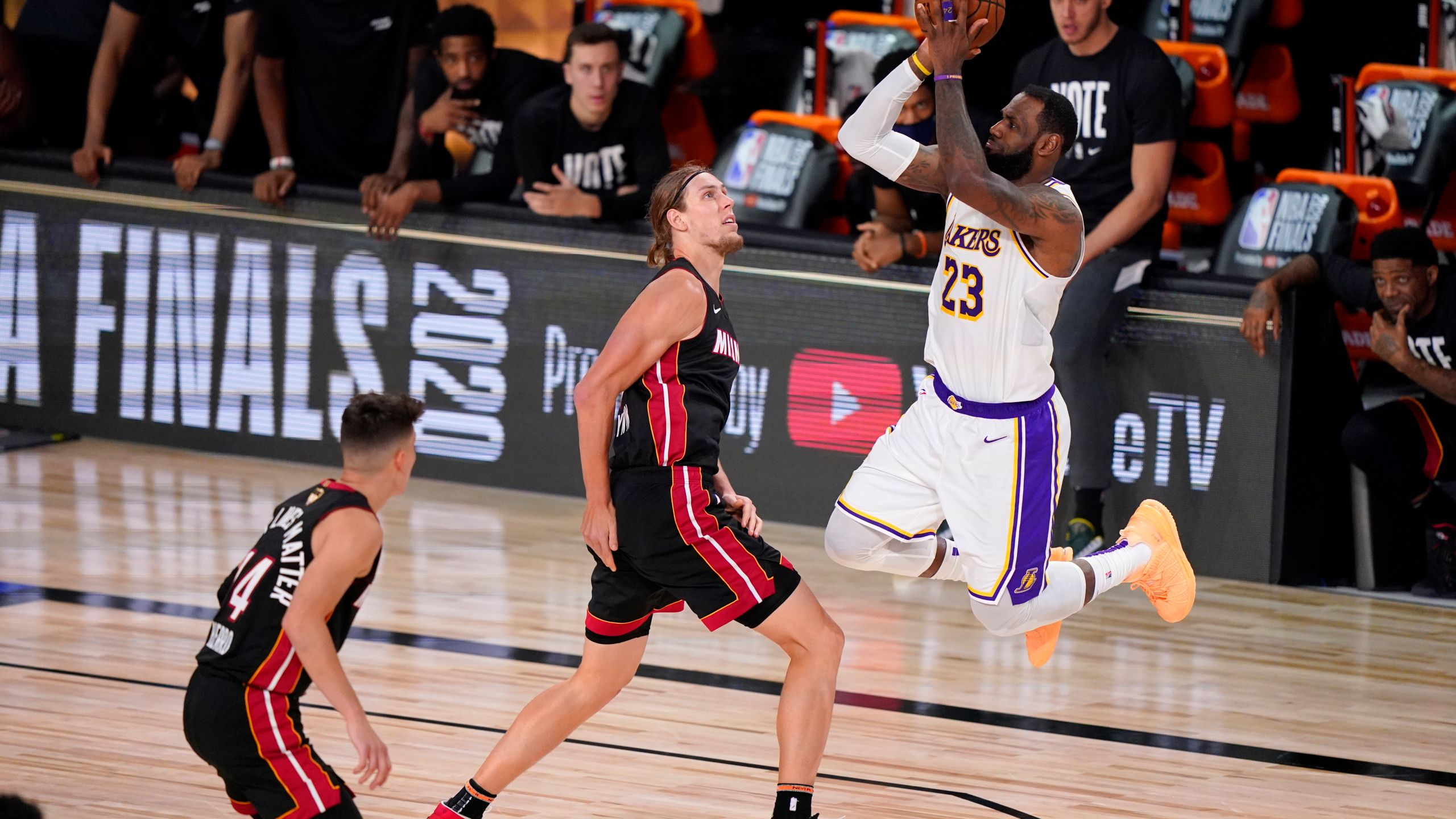 Los Angeles Lakers win NBA Finals; LeBron James secures his fourth championship