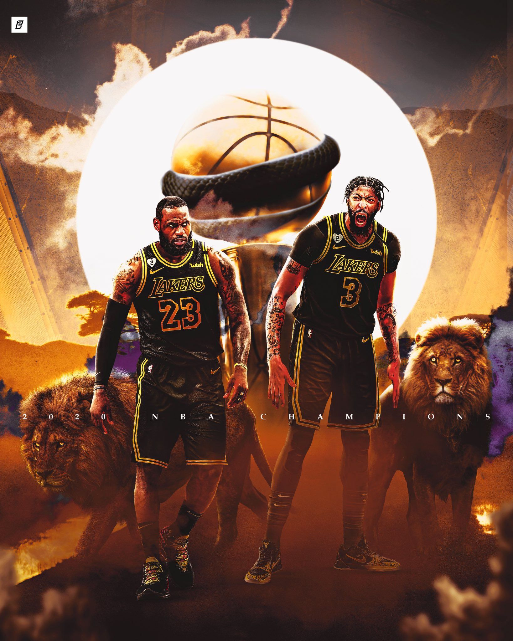Los Angeles Lakers NBA Champions 2020 wallpapers
