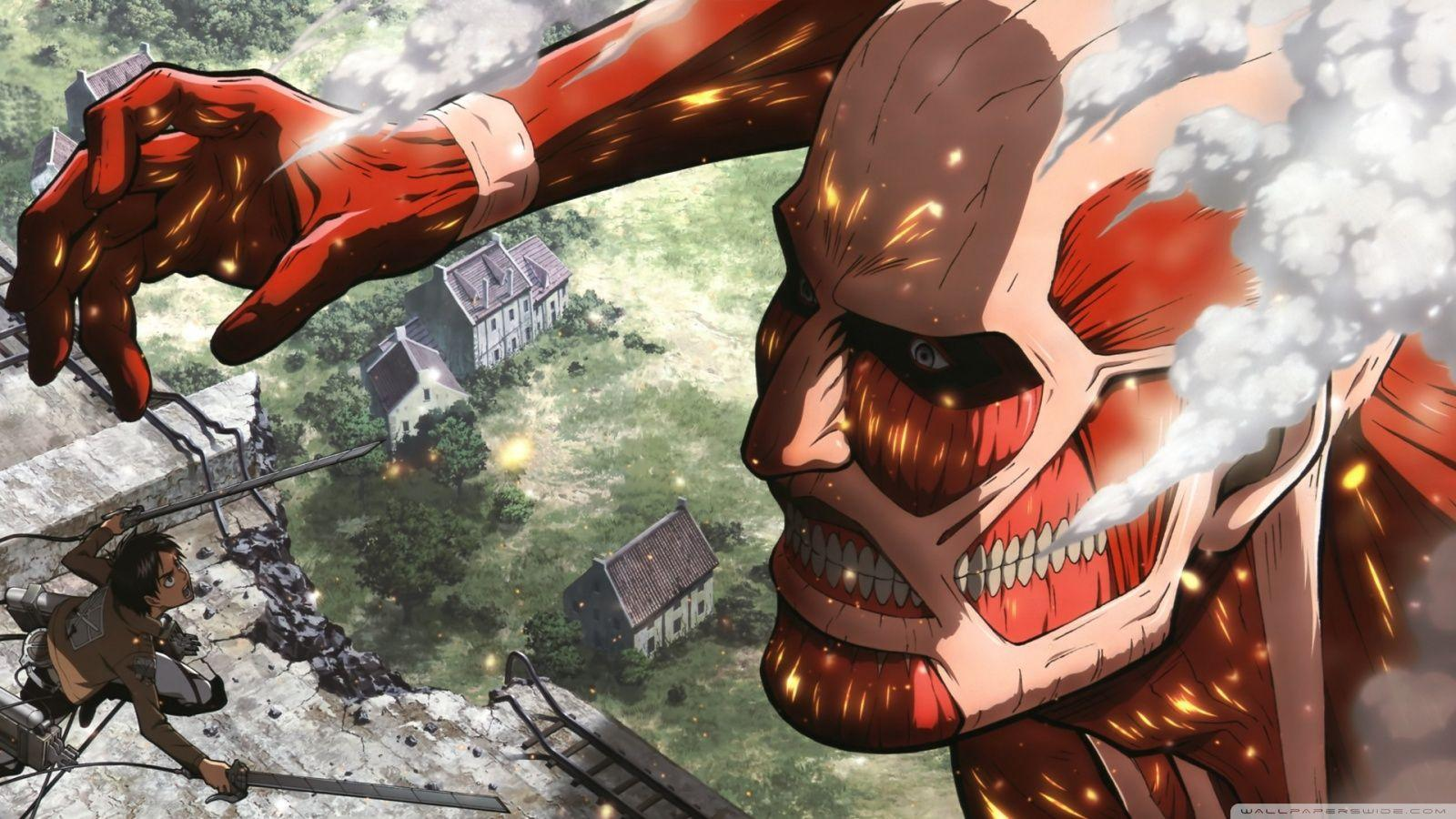 Attack On Titan HD desktop wallpapers : Widescreen : High